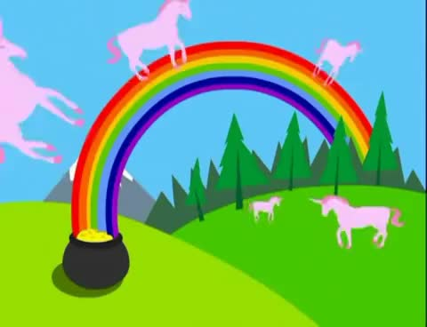 Watch and share Pink Fluffy Unicorns Dancing On Rainbows [10 Hours] GIFs on Gfycat