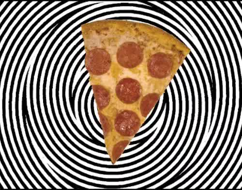 Watch pizzy dizza wait dizzy pizza  GIF on Gfycat. Discover more can't look away, dominos, food, gif, hypnosis, mesmerizing, pizza, pizzapocalypse GIFs on Gfycat