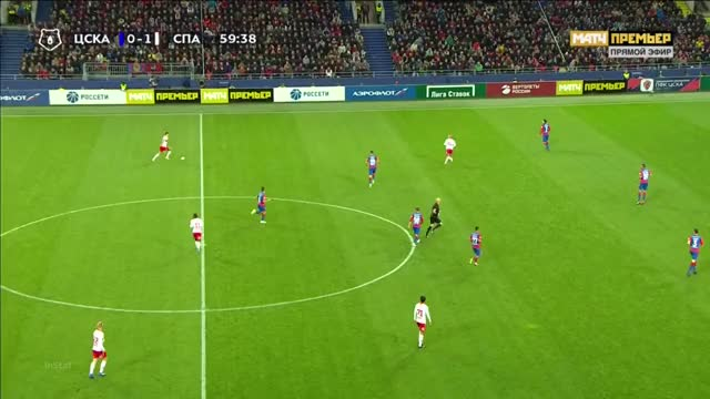 Watch and share 23.09.2018 - CSKA Moskva 1 1 Spartak Moskva - Match In Ball In Play  Mode - 2nd Half, 14 47 - 15 16 GIFs on Gfycat
