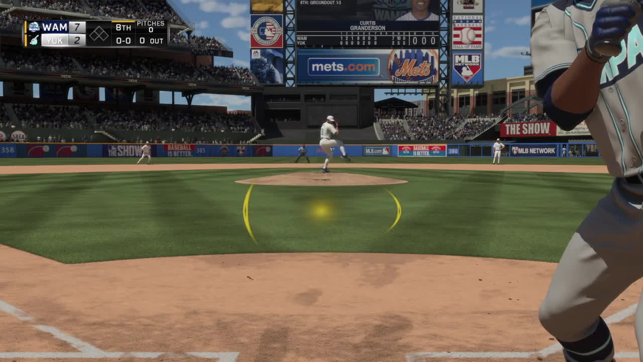 mlbtheshow, Curtis Being Cute Against Yetis GIFs