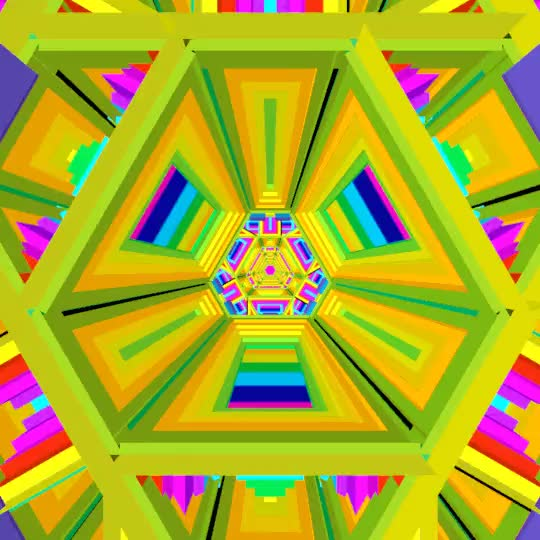 Watch and share Psychedelic Geometric Gif GIFs on Gfycat