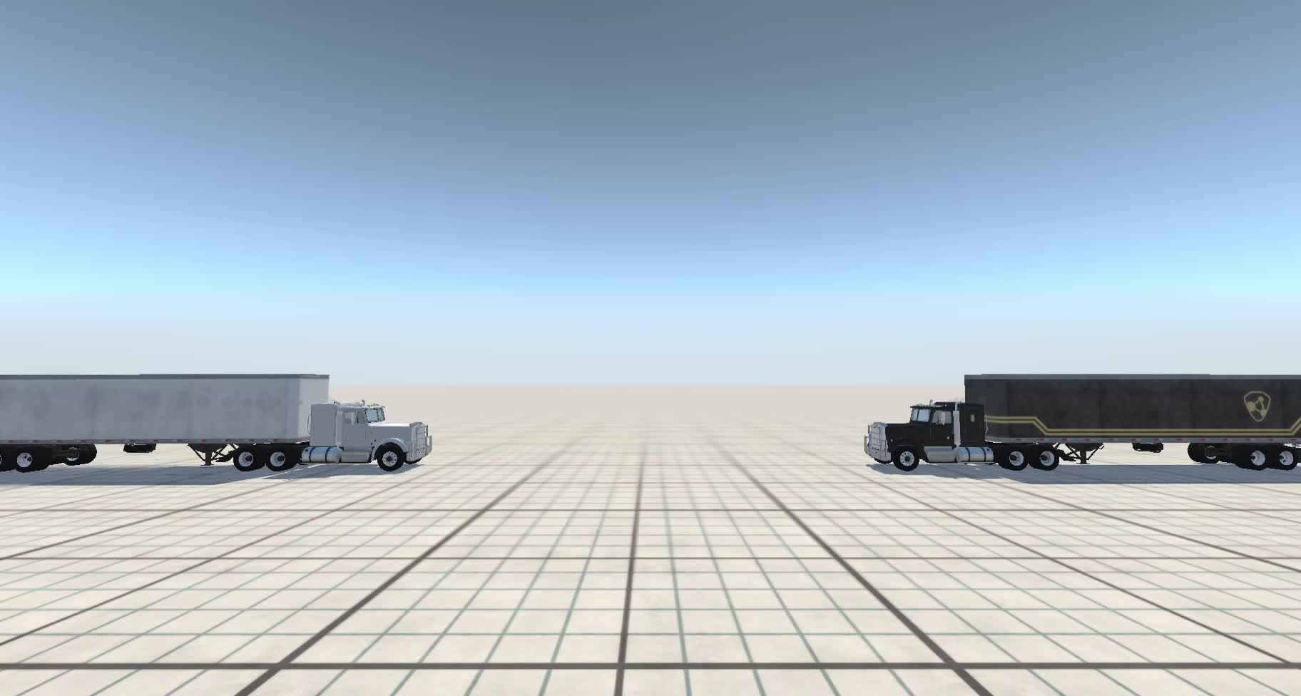 Crash, Gamephysics, Symmetry, Trucks, Matrix Reloaded, Simulated Recreation GIFs