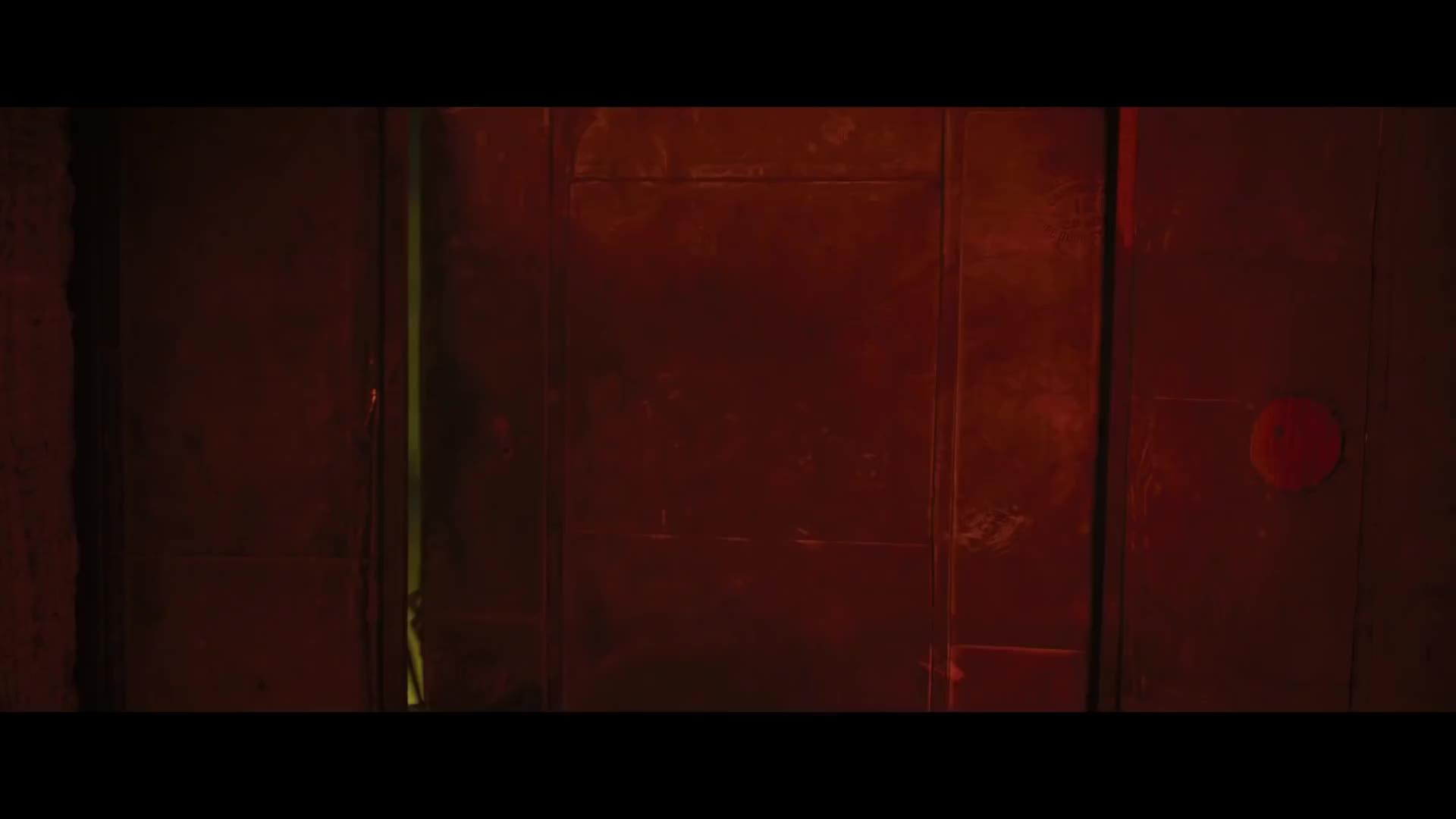 Lupita opens the door