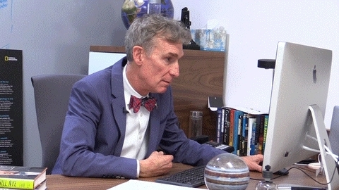 Bill Nye, Bill Nye says cool story bro! GIFs