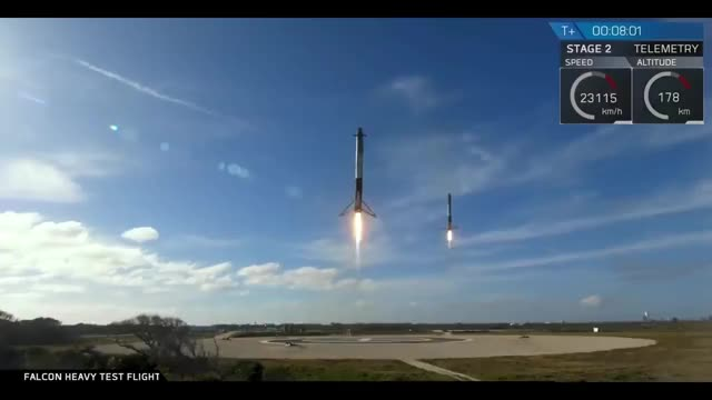Watch Falcon Heavy first landing 1 GIF by Sašo Braz (@jssmrenton) on Gfycat. Discover more related GIFs on Gfycat