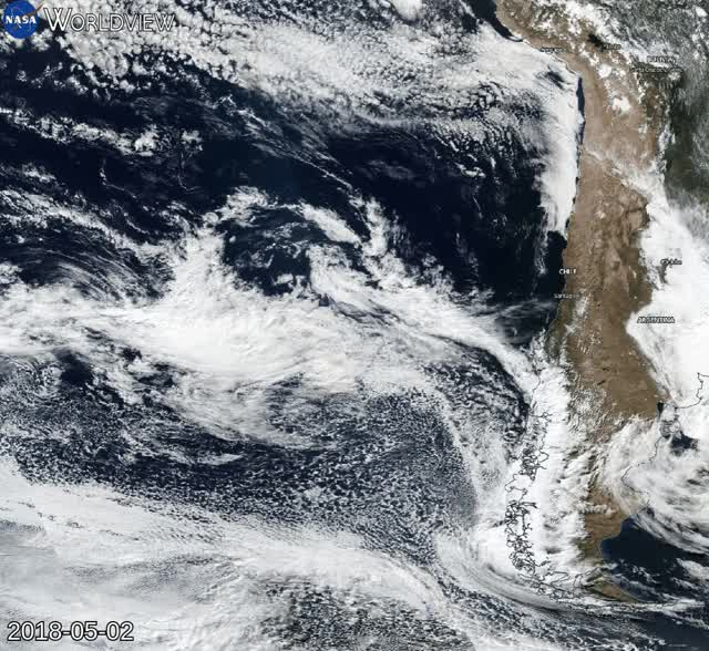 Watch and share Rare Subtropical Storm Forms Off The Coast Of Suomi NPP GIFs by The Watchers on Gfycat