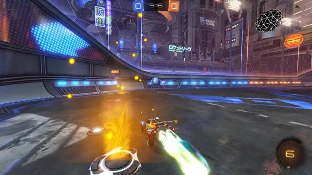 Watch Celing bounce follow up GIF by Mr Pickings Rocket League highlights (@mrpickings) on Gfycat. Discover more Mr Pickings, Rocket League GIFs on Gfycat