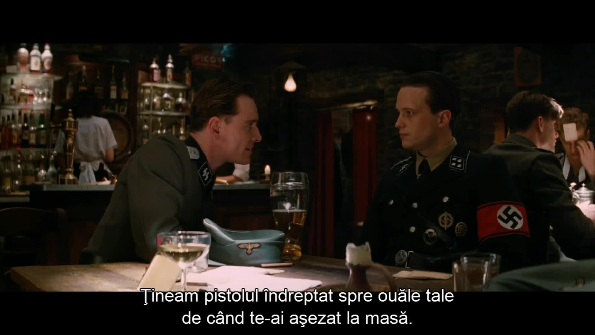 alexandru mortimer, bar shootout, bar shootout inglourious, best scene inglourious, film & animation, if this is it old boy, inglourious basterds best, inglourious basterds pub scene, pub scene inglourious basterds, the bar scene inglourious, gun time GIFs