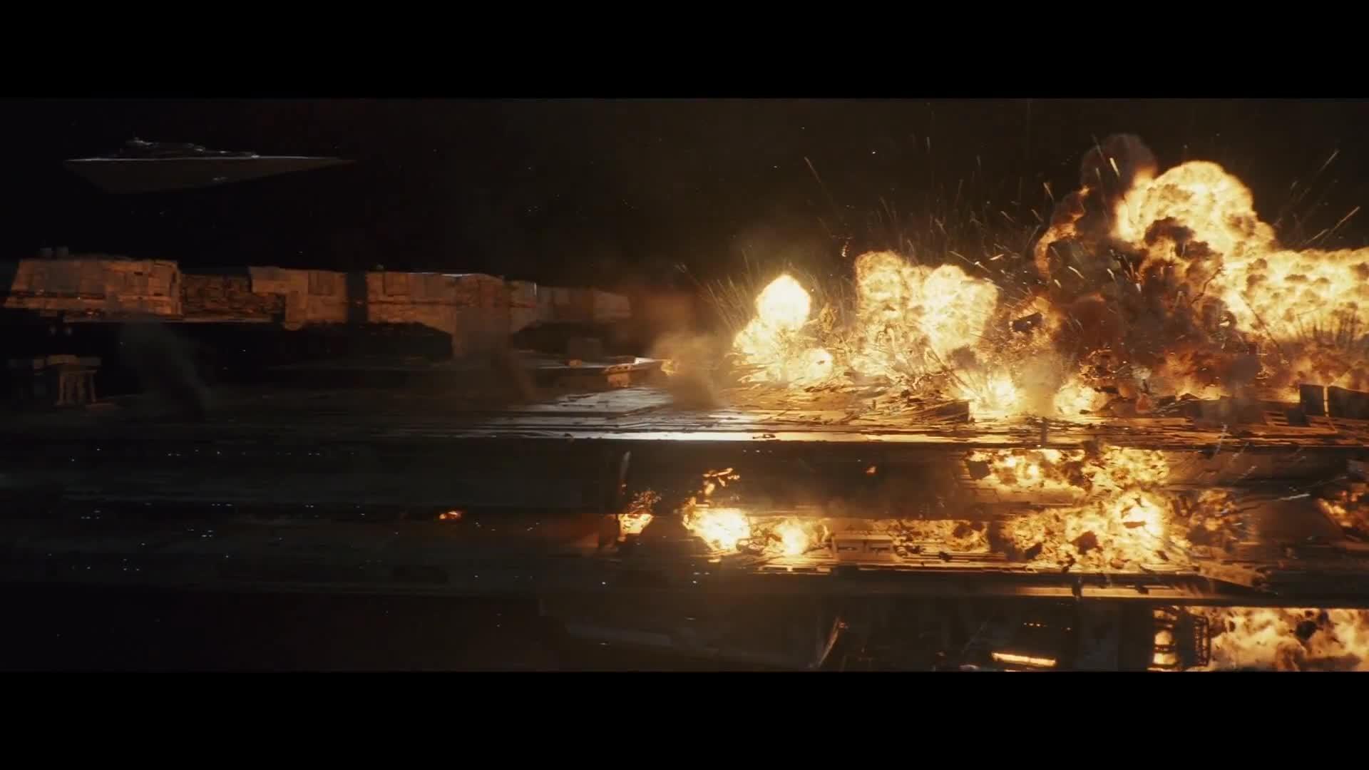 Star Wars The Last Jedi Dreadnought Destroyed Scene Gif By Catc0r0 Gfycat