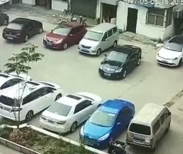 therewasanattempt, Always get out and check if your car would fit before parking (reddit) GIFs