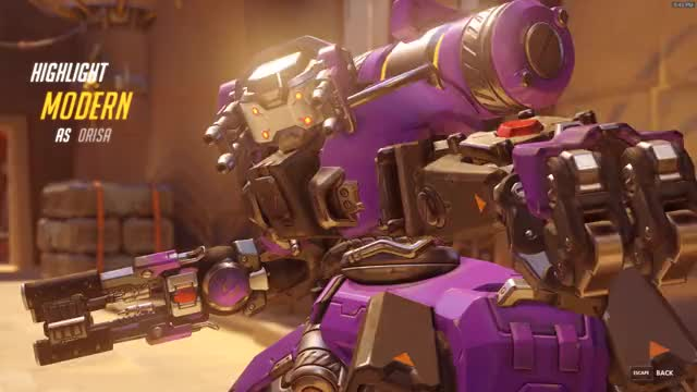 Watch Orisa GIF by @modern on Gfycat. Discover more Overwatch GIFs on Gfycat