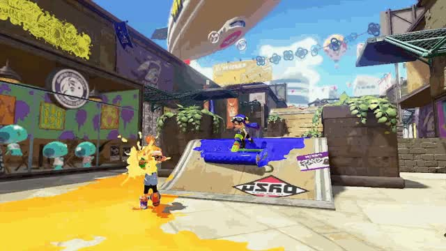 Watch and share Splatoon Gif Wii U Nintendo GIFs on Gfycat