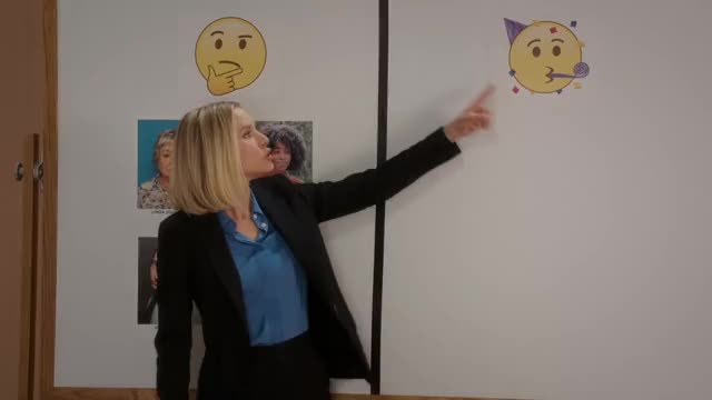 Watch and share The Good Place GIFs and Kristen Bell GIFs by efitz11 on Gfycat