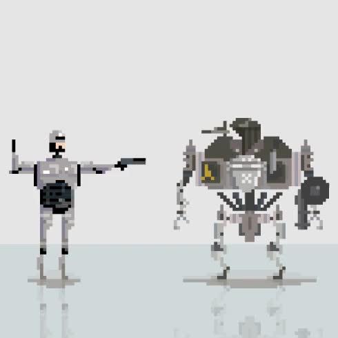 Watch and share Robo Jesus GIFs on Gfycat
