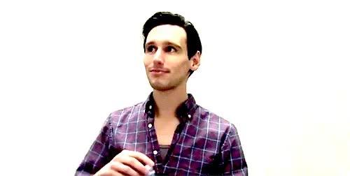 Watch and share Cory Michael Smith GIFs and Edward Nygma GIFs on Gfycat
