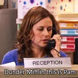 Watch and share Dunder Mifflin GIFs and Erin Hannon GIFs on Gfycat