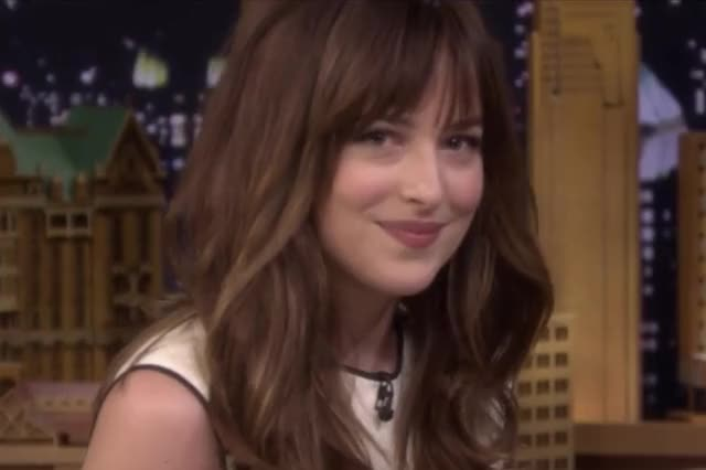 Watch and share Dakota Johnson GIFs and Wink GIFs by Reactions on Gfycat