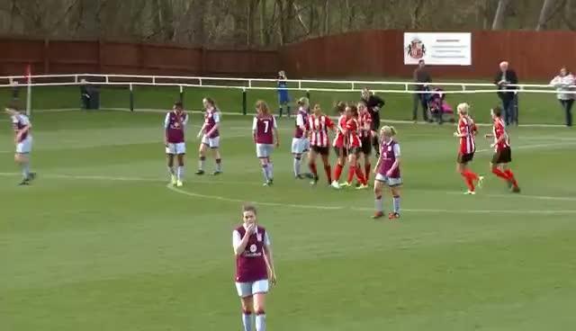 SSE Women's Cup: SAFC 3 - 2 Aston Villa Ladies Highlights GIFs