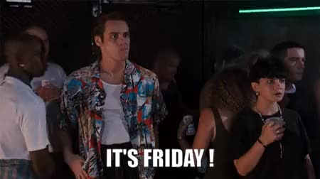Watch this friday GIF on Gfycat. Discover more Days of the week, Friday GIFs on Gfycat