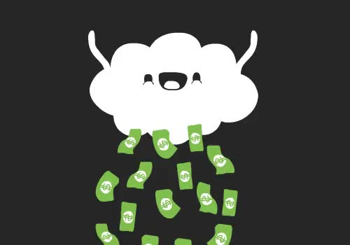 cloud money gif GIF by Streamlabs (@streamlabs-upload) | Find, Make