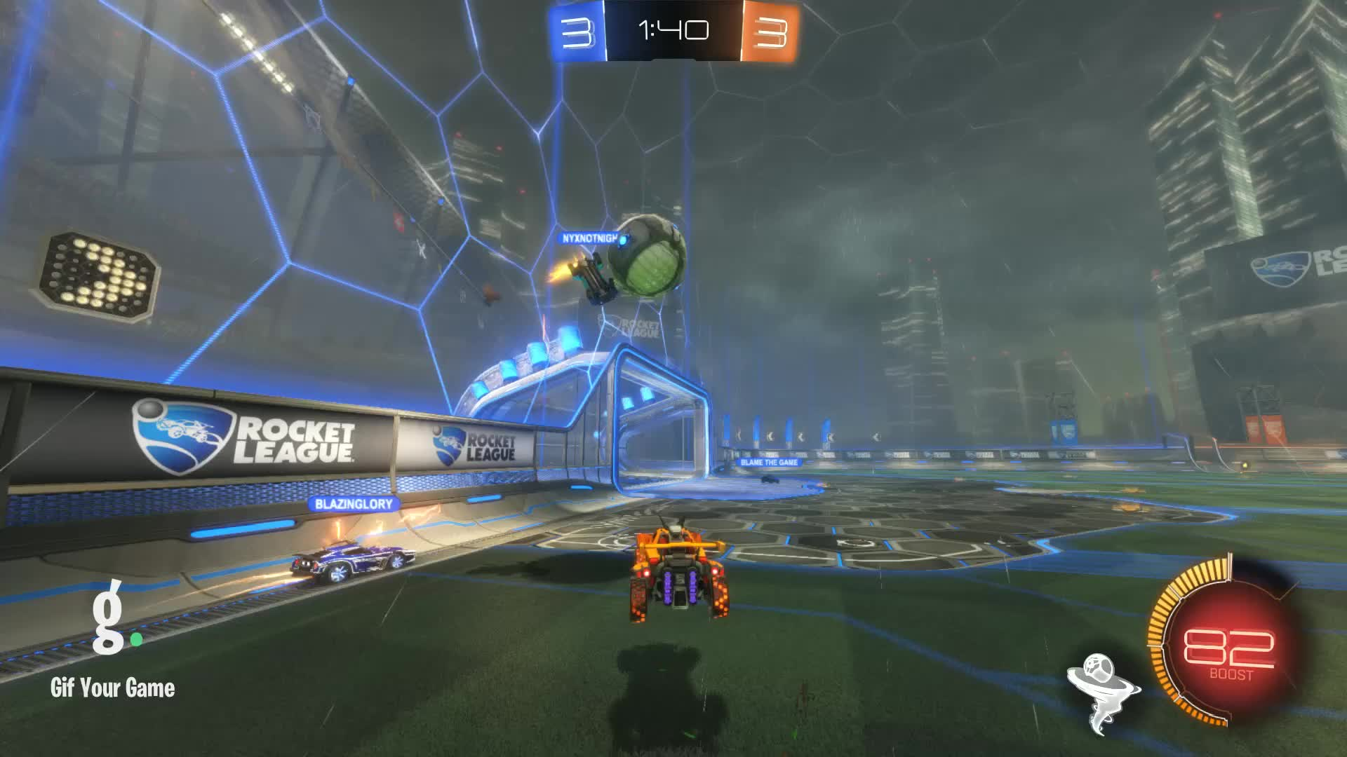 Gif Your Game, GifYourGame, Goal, Mr_Inconsist3nt, Rocket League, RocketLeague, Goal 7: Mr_Inconsist3nt GIFs