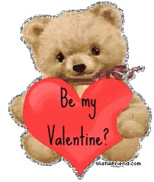 Watch and share Be My Valentine? animated stickers on Gfycat