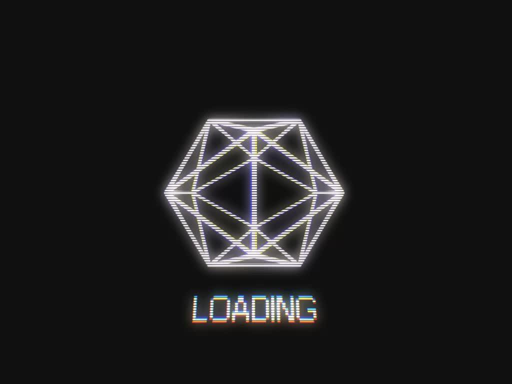 loadingicon, Icosahedron [OC] (reddit) GIFs