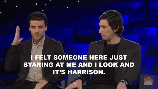 Watch and share Adam Driver GIFs and Oscar Isaac GIFs on Gfycat