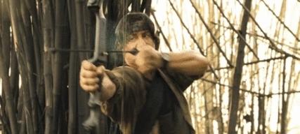 Action, Bow and arrow, Gif, Gifs, Rambo, Rambo 4, Sylvester Stallone, action, bow and arrow, gif, gifs, rambo, rambo 4, sylvester stallone, GlisteningSentimentalBellsnake GIFs