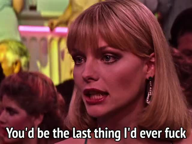 Watch and share Michelle Pfeiffer GIFs and Scarface GIFs by MikeyMo on Gfycat