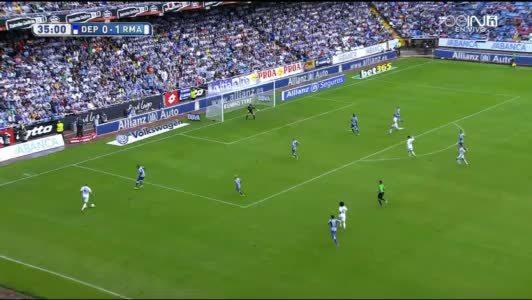 halamadrid, soccer, Amazing shot from James Rodríguez to make it 2-0. (reddit) GIFs