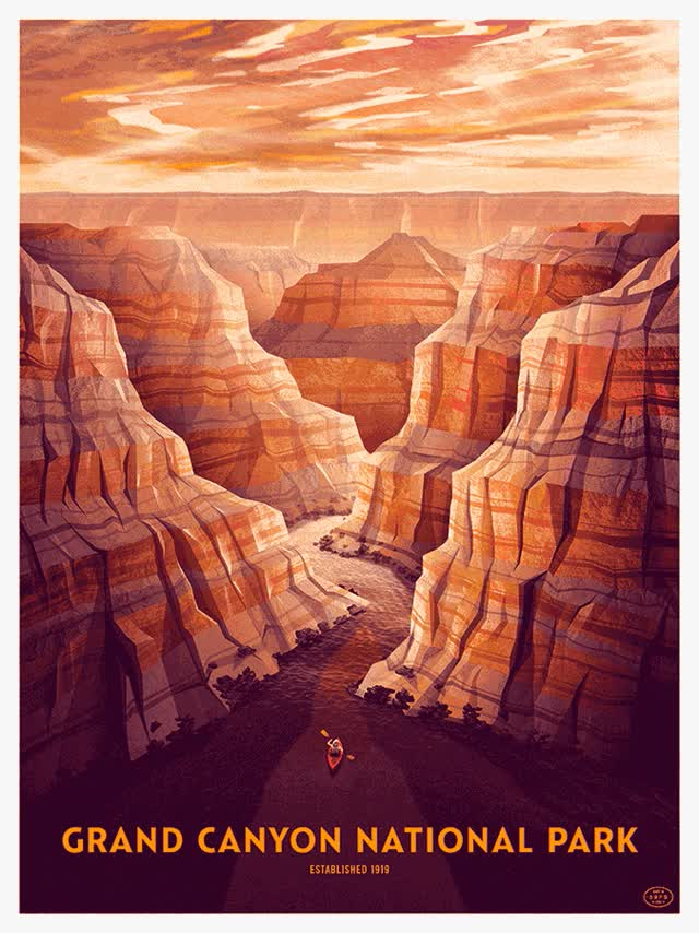 Watch and share DKNG Grand Canyon Layers GIFs on Gfycat