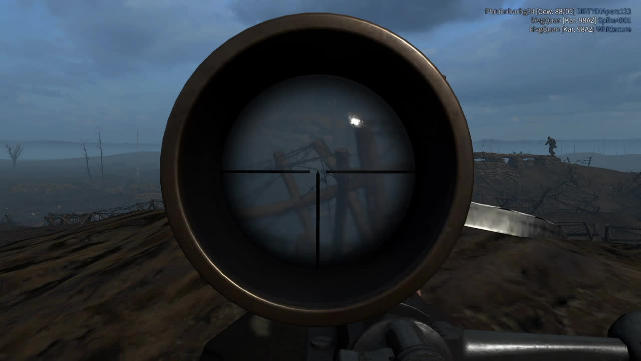 VerdunGame, verdungame, During a stalemate.. whip out the Gewehr. GIFs