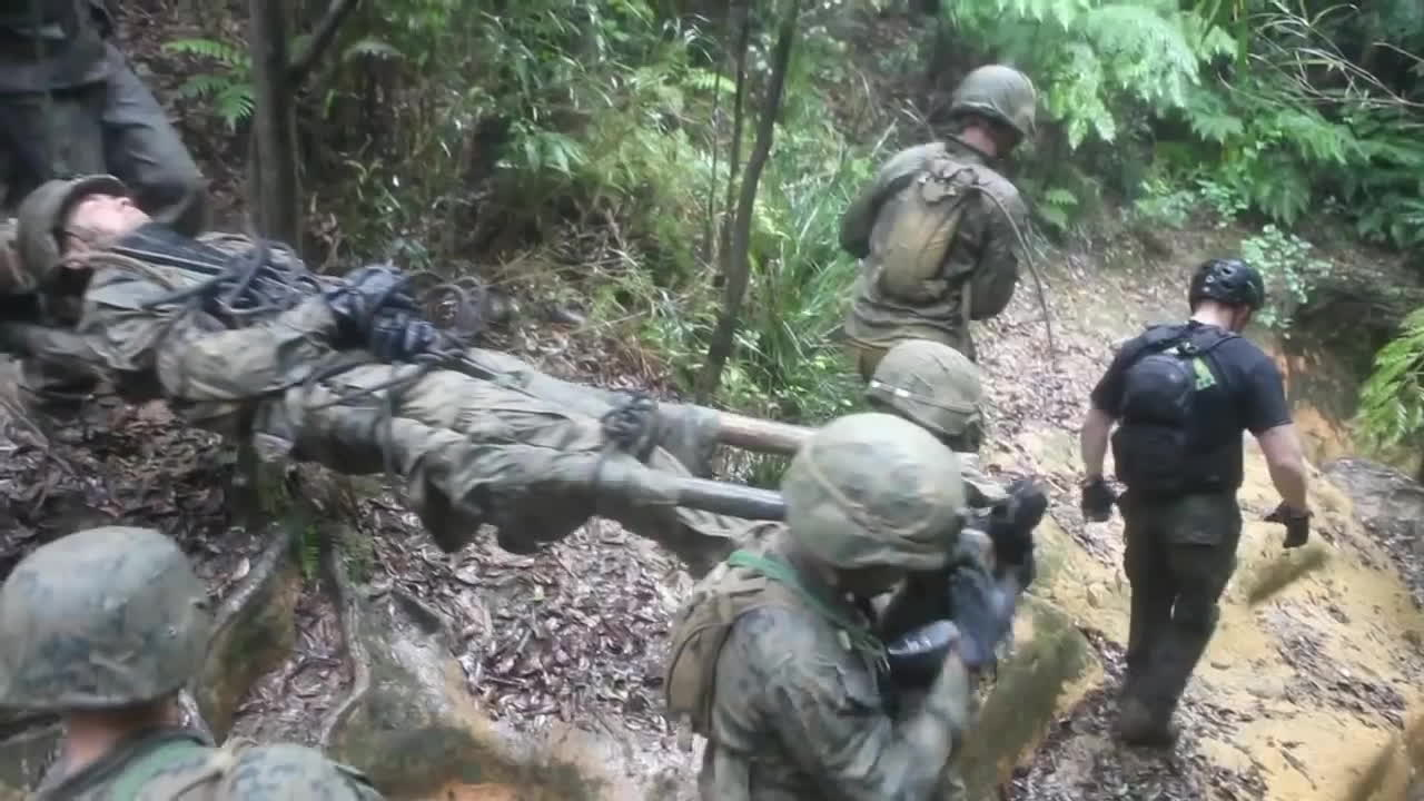 MilitaryGfys, jwtc, usmc, Marines complete 'Jungle Endurance Course' at JWTC (Camp Gonsalves, Okinawa) GIFs