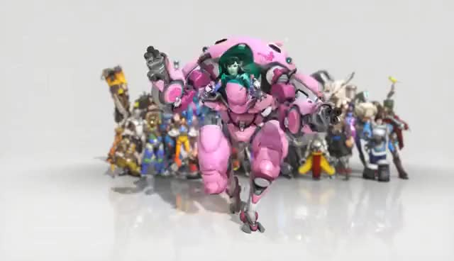 Watch and share Overwatch D.Va Dance Emote Animated Wallpaper 1080p FULLHD GIFs on Gfycat