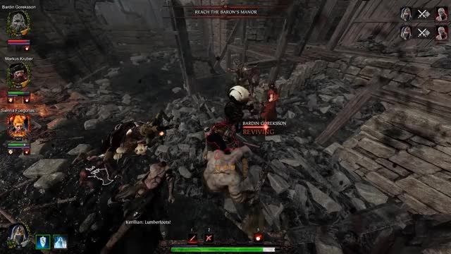 Watch Oops GIF by @shaaades on Gfycat. Discover more accident, kill, leech, spawn, stab, vermintide 2, warhammer vermintide 2 leech accident GIFs on Gfycat
