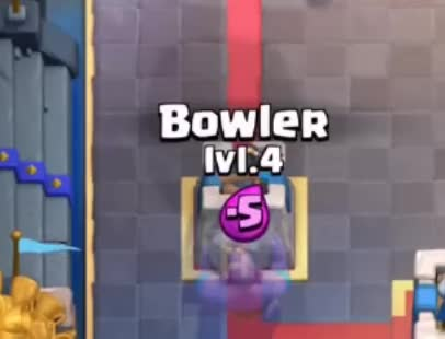 Watch and share Bowler Vs Goblin Barrel GIFs by Clash World on Gfycat