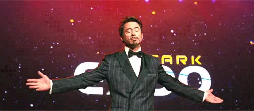 Watch and share Robert Downey Jr GIFs and Bowing GIFs on Gfycat