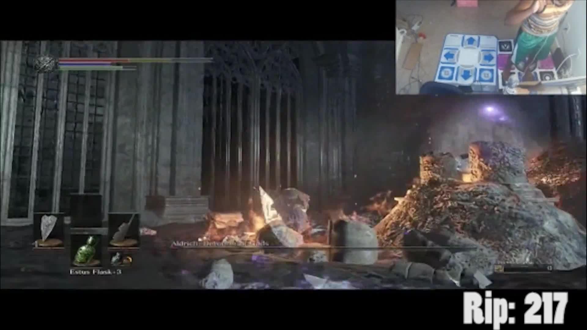 how to kill aldrich devourer of gods