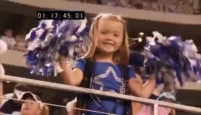 "Watch Dallas Cowboy Cheerleaders dancing to ""Shakin' That Tailgate"" by Trailer Choir GIF on Gfycat. Discover more related GIFs on Gfycat"