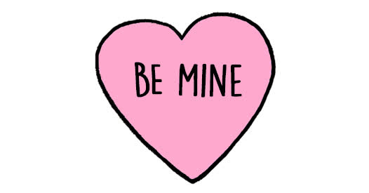 happy valentines day, valentines day, be mine valentine hearts animated card GIFs
