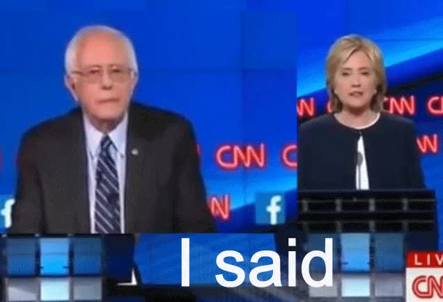 Watch and share Bernie Sanders GIFs by banned0bon on Gfycat