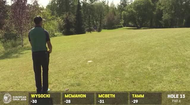 Watch and share 2019 European Open Round 4 Paul McBeth Hole 13 Approach GIFs by Benn Wineka UWDG on Gfycat