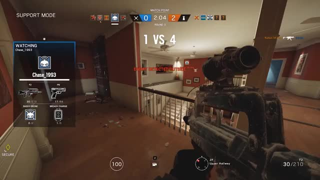 Chase hacking again