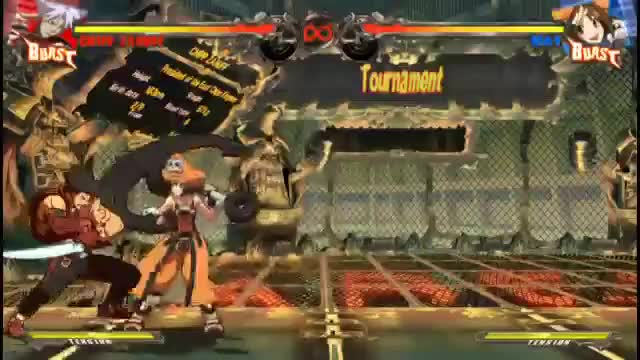 Watch and share GGXrd 1.10 - Multi-characters Combo Video - Sacks (360p)(6) GIFs by blazgear on Gfycat