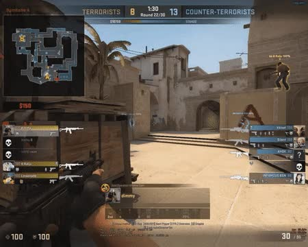 Watch Galil Double Headshot? • /r/GlobalOffensive GIF on Gfycat. Discover more related GIFs on Gfycat
