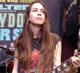 Watch and share Danielle Haim GIFs and Music GIFs on Gfycat