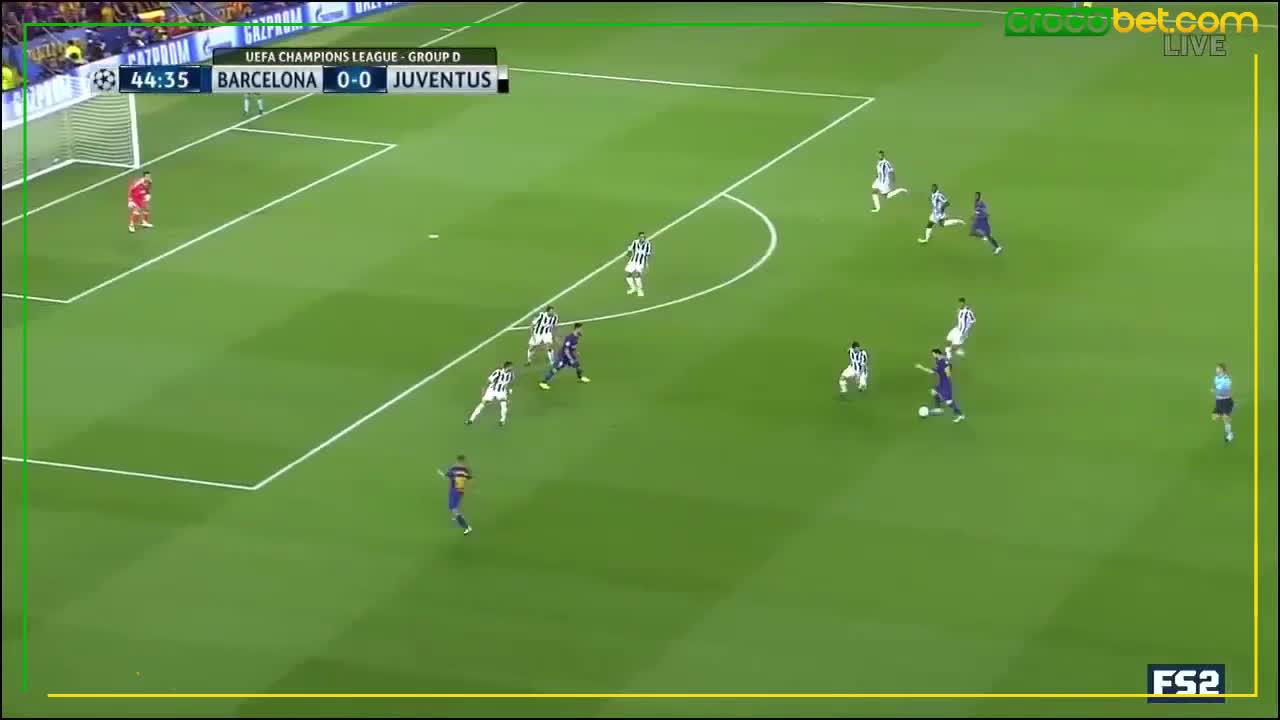 Messi-Buffon GIFs