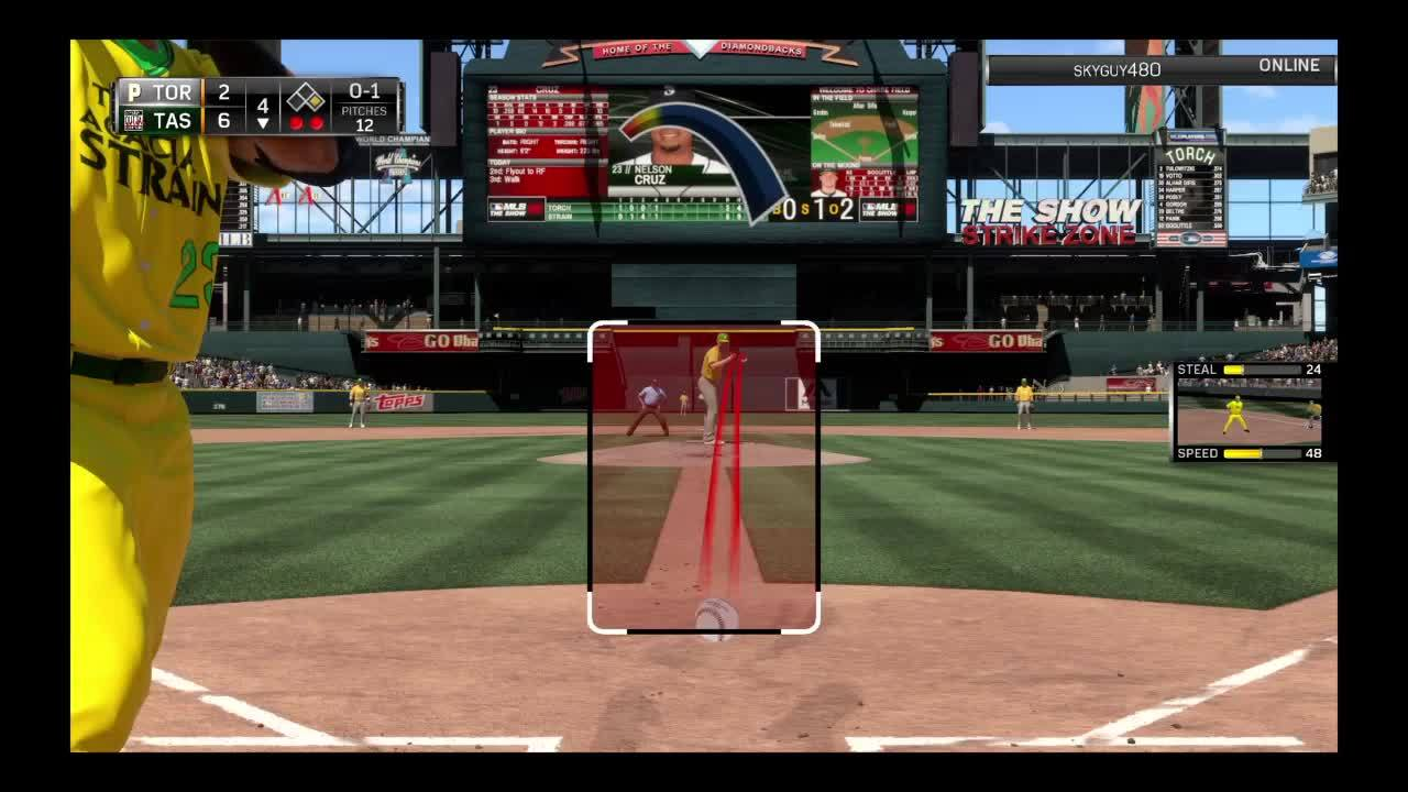 mlbtheshow, Ground Rule Double GIFs