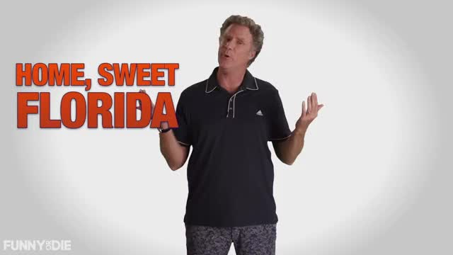 Watch Home Sweet Florida - Will Ferrell GIF by Funny Or Die (@funnyordie) on Gfycat. Discover more Funny or Die, Will Ferrell, election 2016, florida, fod, vote GIFs on Gfycat